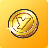 黄色コイン